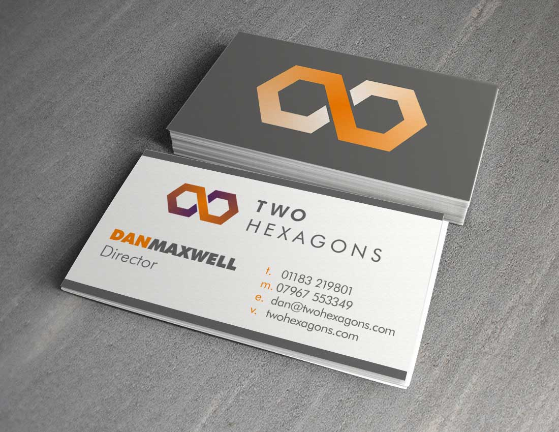 TwoHexagons Business cards