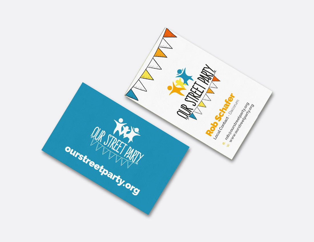 Our Street Party Business Cards
