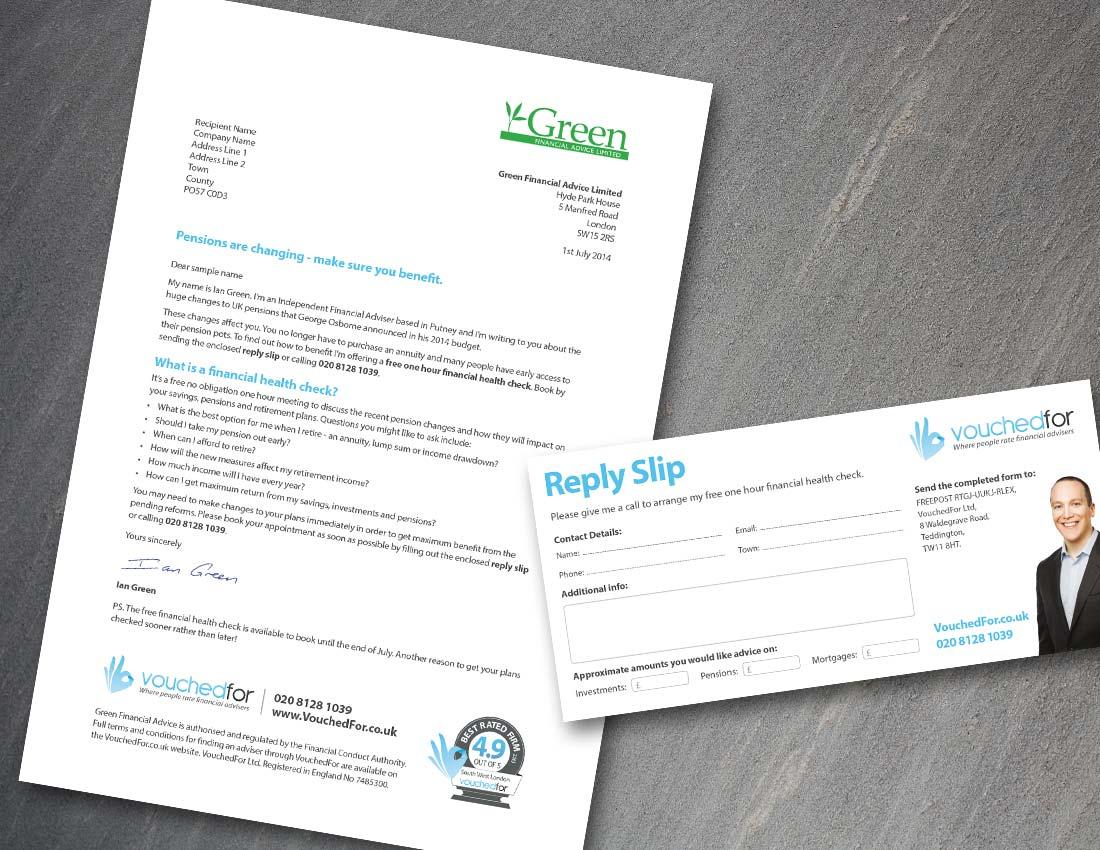 VouchedFor Bi Fold Leaflet additional