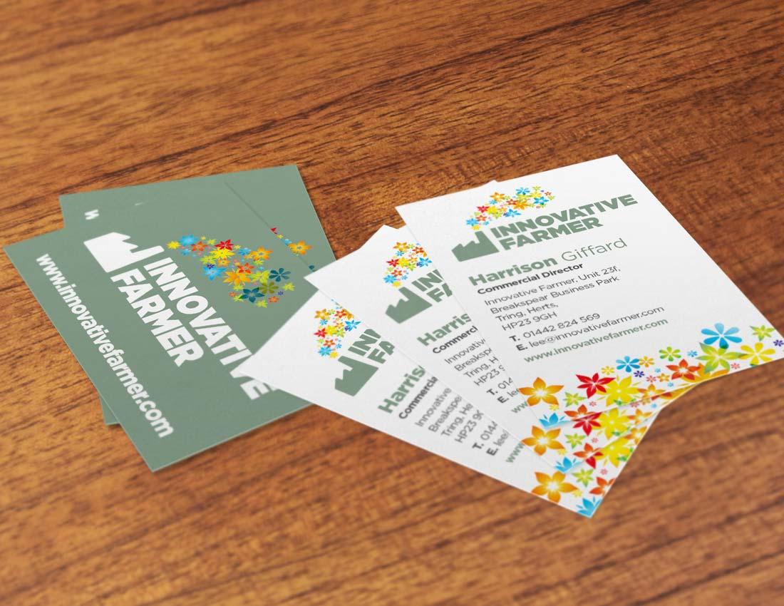 Innovative Farmer business card