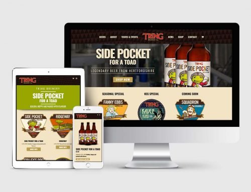 Tring Brewery – Responsive eCommerce website