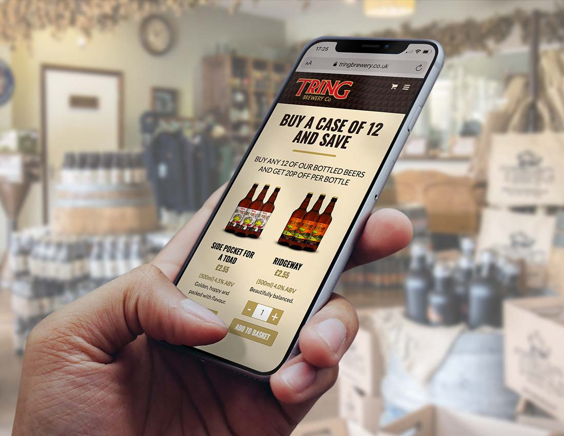 Tring Brewery responsive